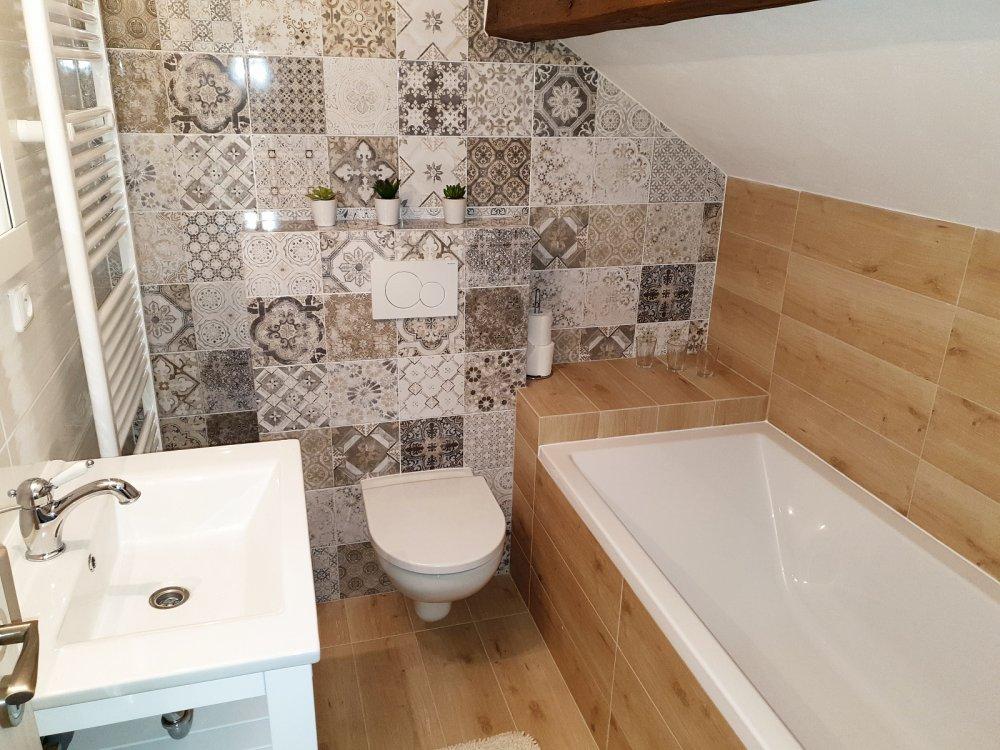 Apartmán Rosenberg I. | koupelna